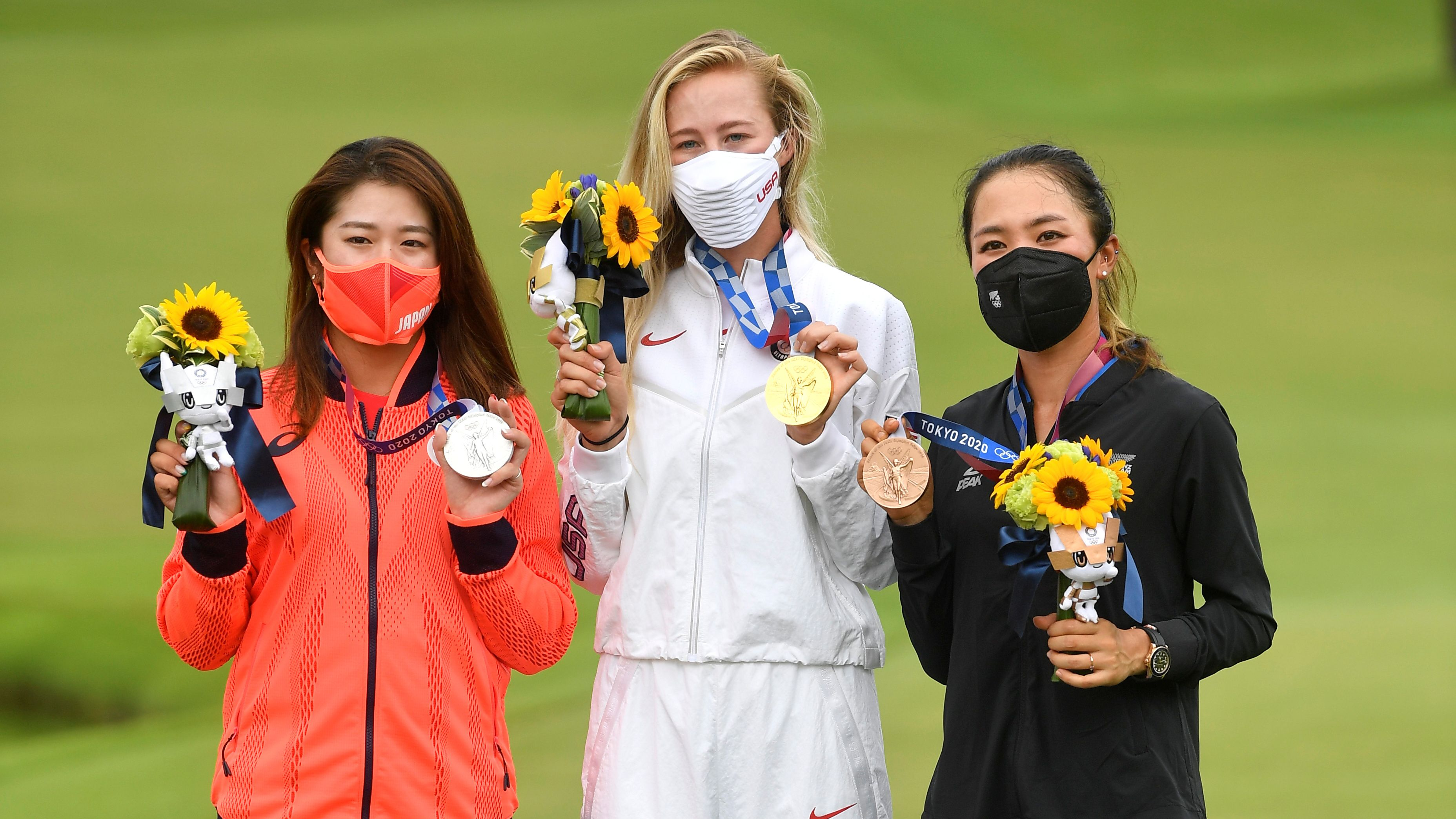 U.S. Sweeps Olympic golf gold medals as Nelly Korda claims victory - Radio  ROCK & POP